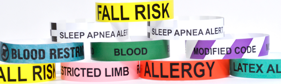Alert Wristbands For Special Needs