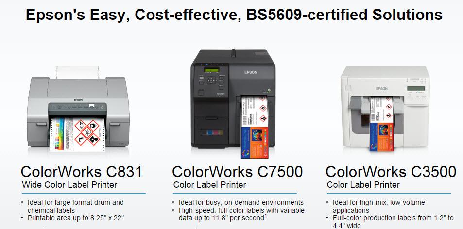 GBS Epson Printers