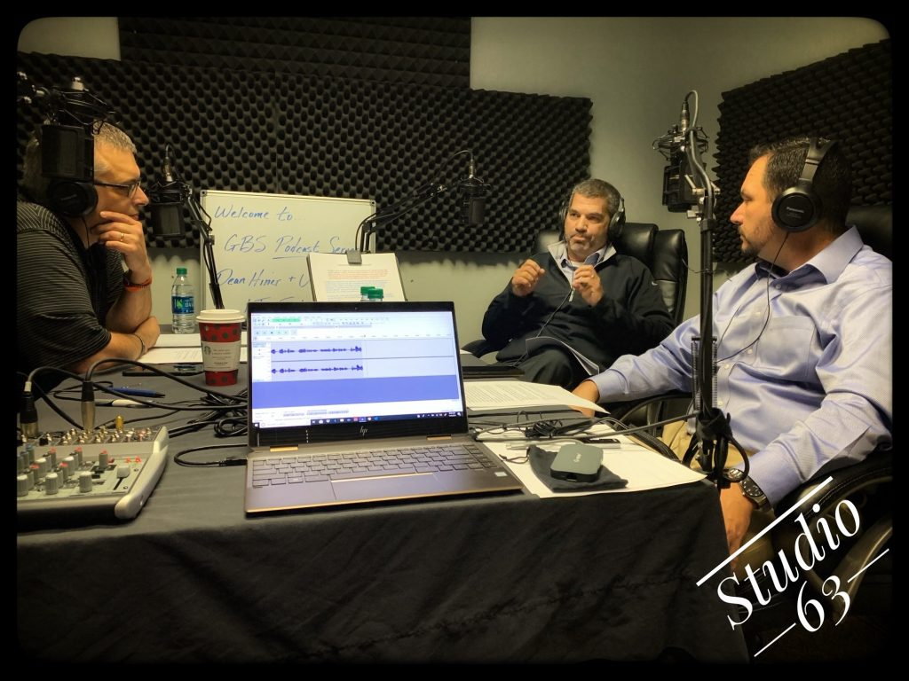 GBS Smart Business Solutions podcast being recorded.