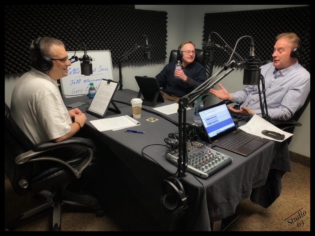 Jeff, Gary and Rich discussing embellished print in Episode 14 of Smart Business Solutions.